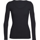 Icebreaker W's Siren LS Sweetheart Sweater Black